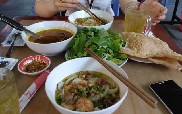 Hình ảnh tô mì Quảng ở Phú Chiêm