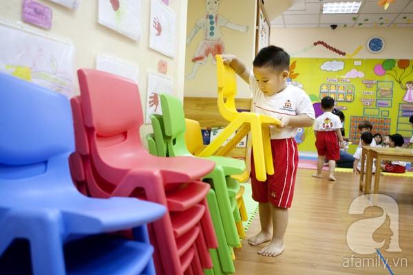 Trẻ đến trường không chỉ để học mà còn phát triển kĩ năng