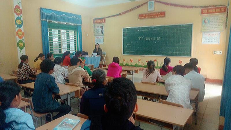 Phụ huynh và giáo viên cần phối hợp để giáo dục học sinh nhuần nhuyễn