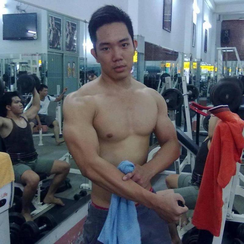 Thành viên của hội Phú Khang Gym tập được 2 tháng