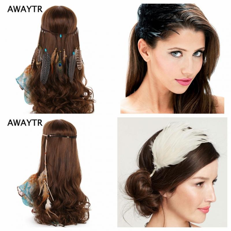 Các loại phụ kiện tóc đính lông đa dạng