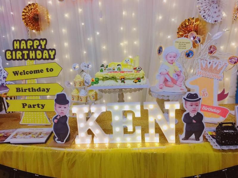Tiệc sinh nhật được tổ chức theo mong muốn của bạn