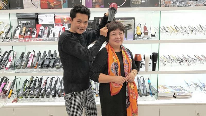 Phụ liệu tóc Ân Bảo Vân