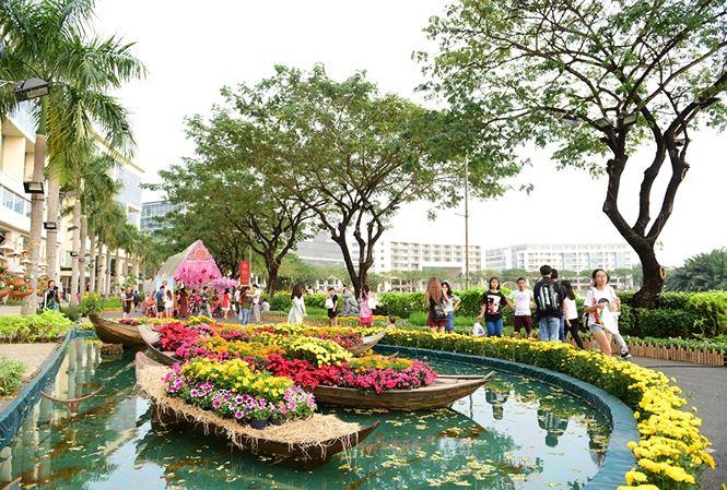 Hội chợ hoa Xuân Phú Mỹ Hưng 2019