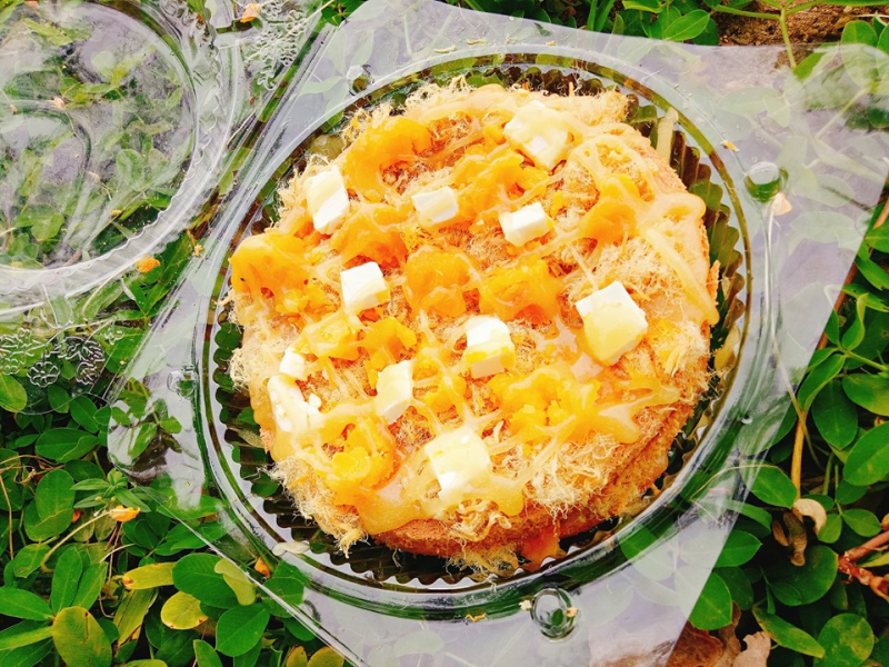 Bánh bông lan trứng muối siêu hấp dẫn nhà Phu Quy