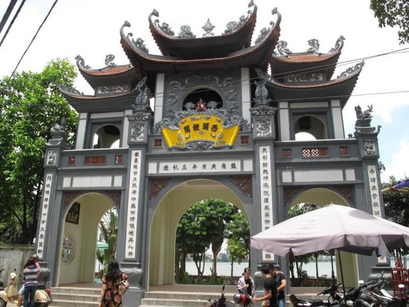 Phủ Tây Hồ - Đường Xóm Chùa, Quảng An, Q. Tây Hồ