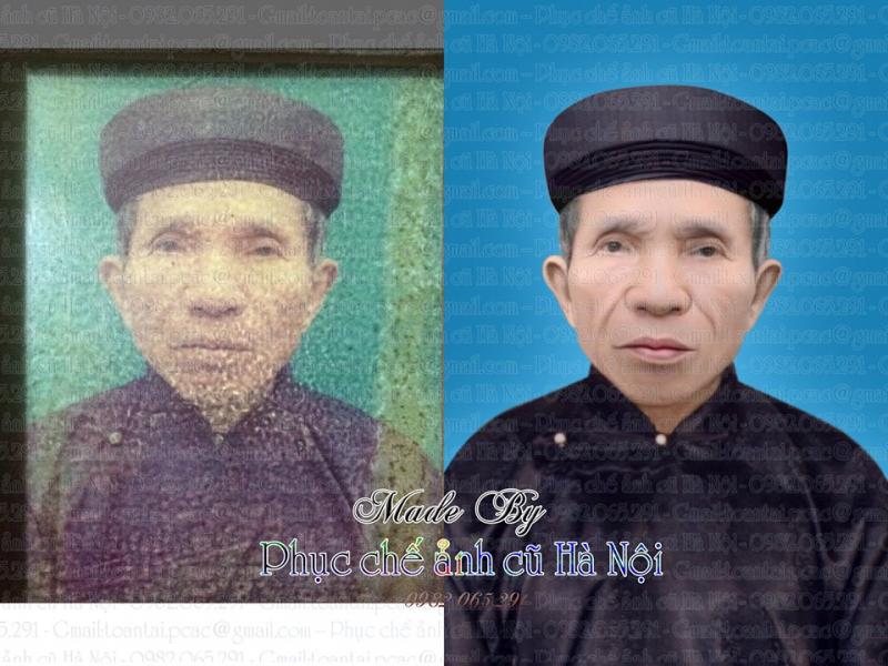 Phục chế ảnh cũ Hà Nội