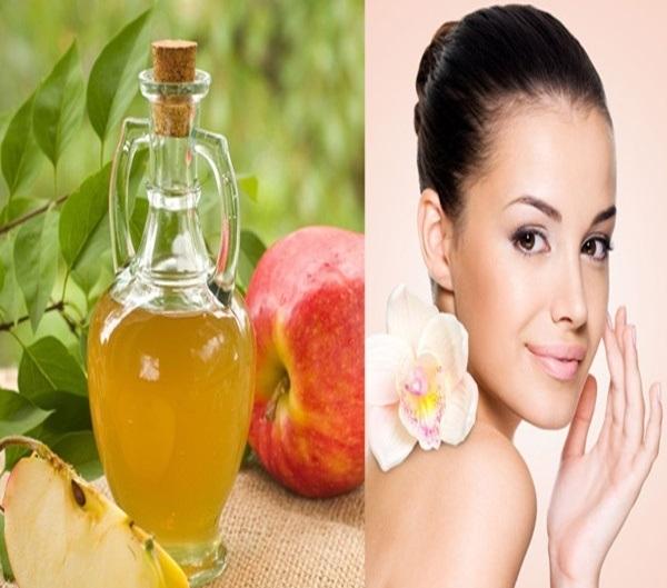 Giấm táo giúp phục hồi làn da bị cháy nắng của bạn