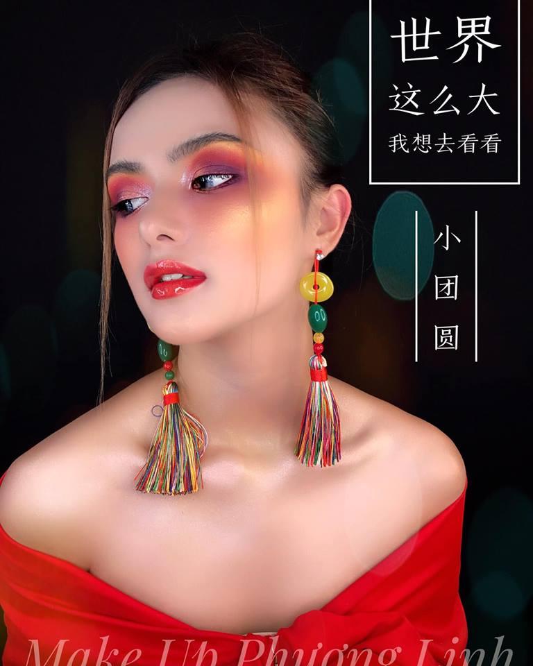 Phuong Linh Nguyen makeup
