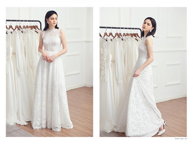 Váy đi tiệc tại shop cs thiết kế đa dạng từ xòe, ôm body đến chữ A