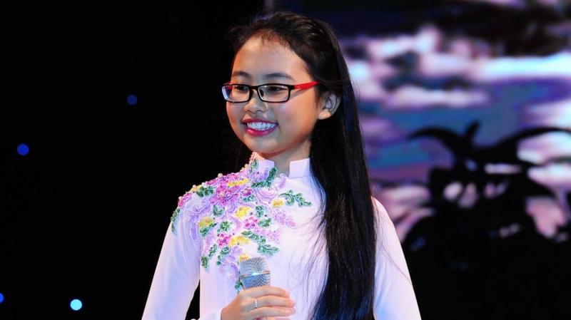 Phương Mỹ Chi là ca sĩ nhí nổi tiếng nhất Việt Nam hiện nay