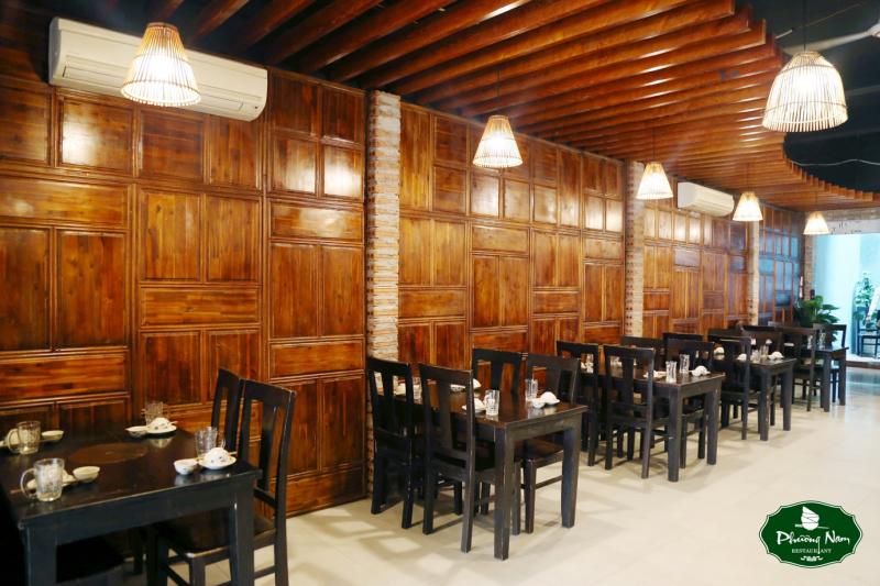 Không gian nhà hàng đậm chất Nam Bộ
