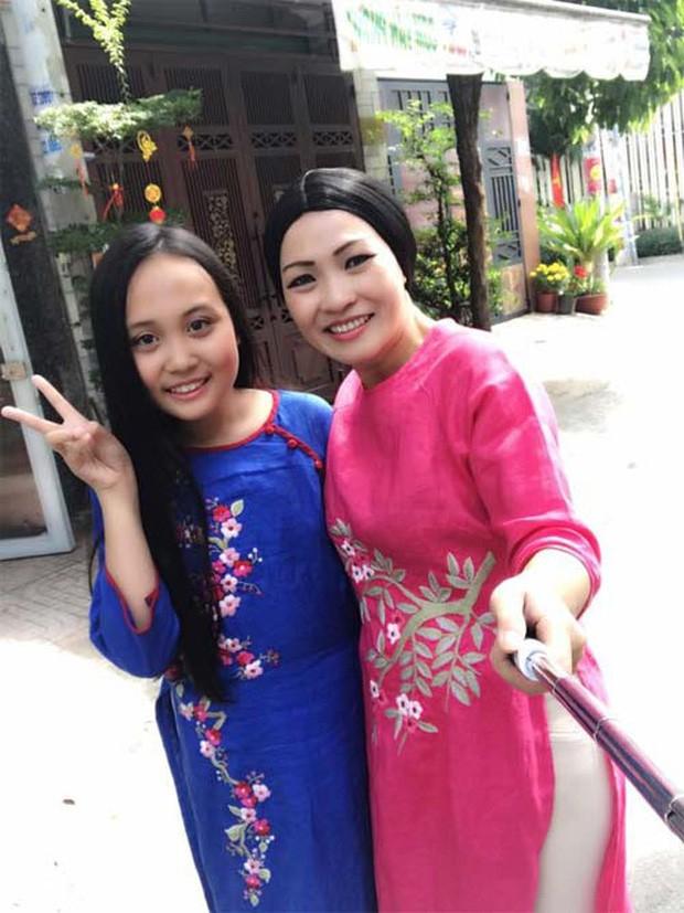 Phương Thanh và bé Gà.