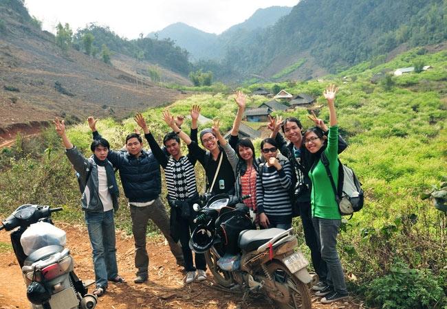 Đến Mai Châu bằng xe máy