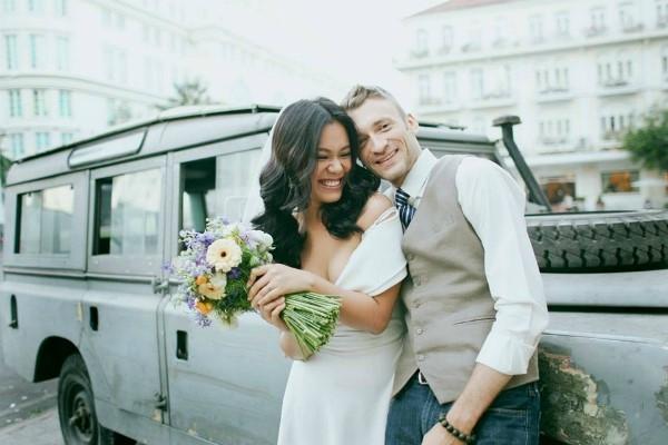 Phương Vy hạnh phúc bên chồng trong ngày cưới