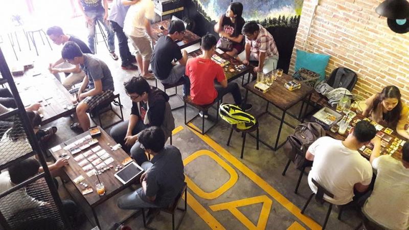 Pigasus Acoustic Coffee Workshop - Boardgame