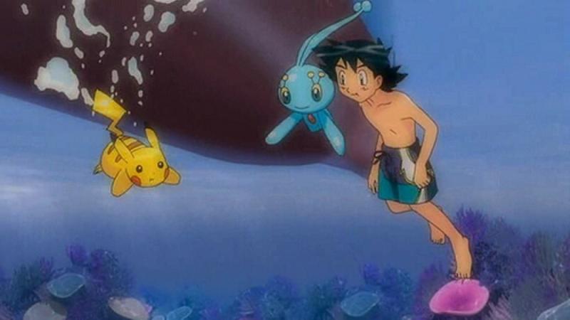 Có thể bơi an toàn dưới nước cùng Pikachu hệ điện