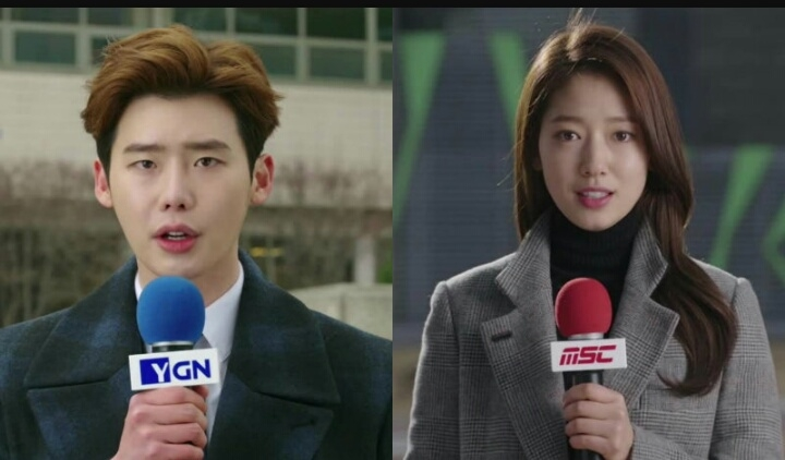Hóa thân thành phóng viên của Lee Jong Suk và nữ chính trong
