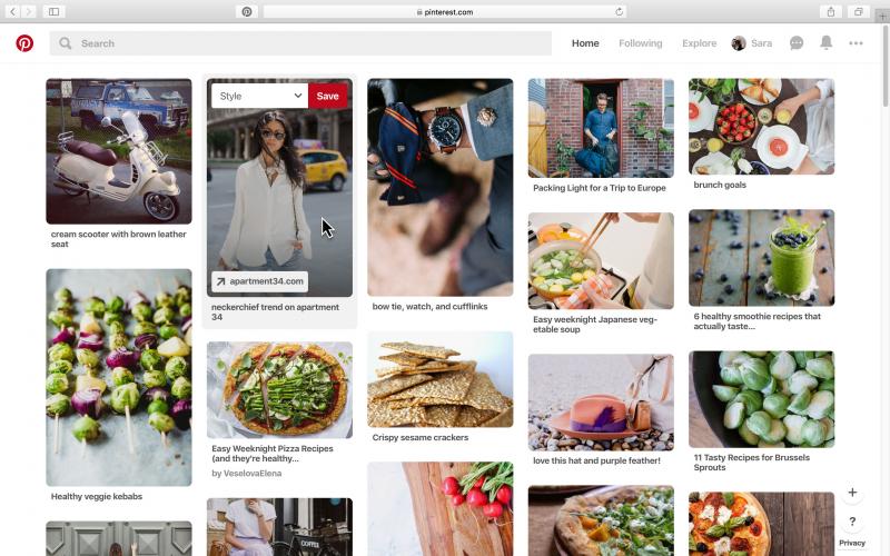 Sử dụng Pinterest để lưu giữ những khoảnh khắc tuyệt vời