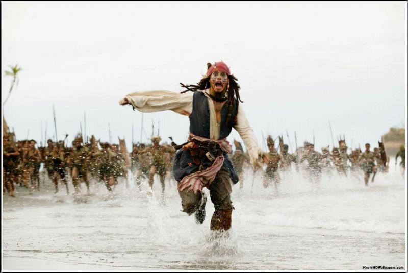 Cảnh quay kinh điển trong Pirates of the Caribbean: Dead Man's Chest (2006)