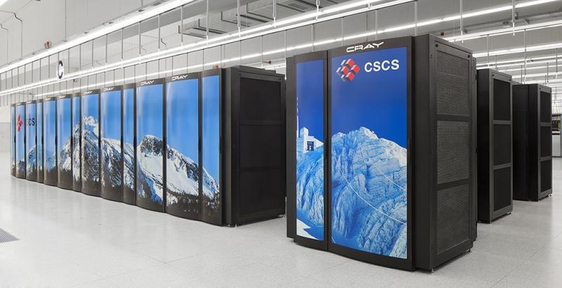 Siêu máy tính Piz Daint tại Thụy Sĩ