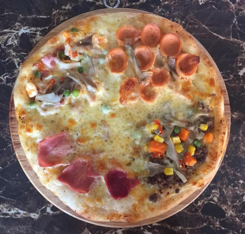 Chiếc bánh Pizza thơm ngon tại Pizza 131