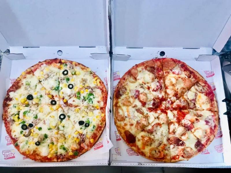 Món pizza hấp dẫn tại quán