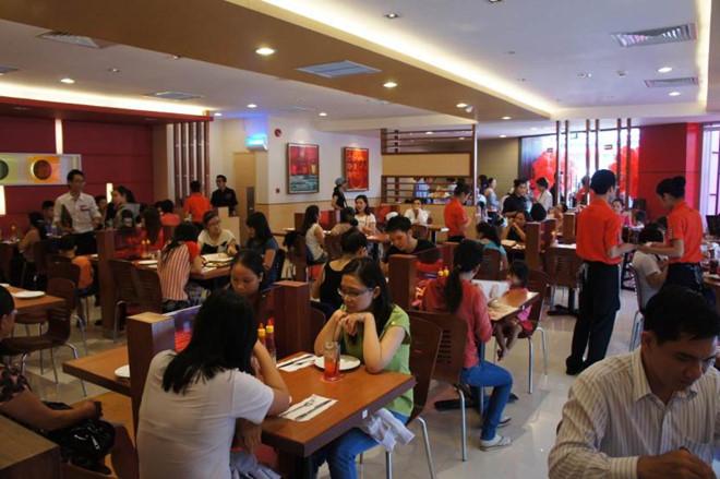 Cửa hàng Pizza Hut ở tại Vũng Tàu