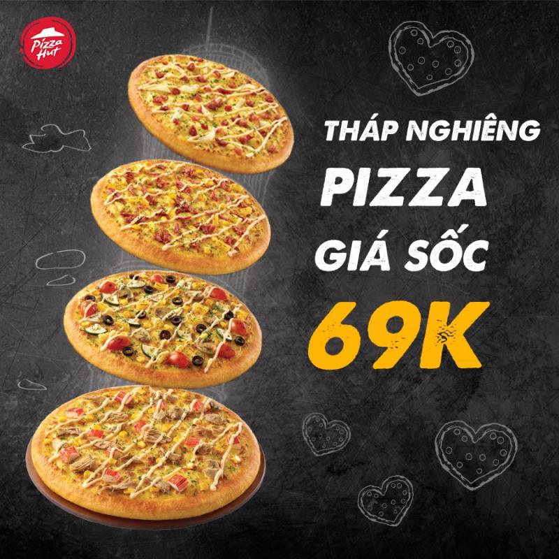 Pizza Hut Bà Rịa còn có những chương trình ưu đãi siêu hấp dẫn cho khách hàng