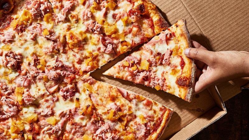 Pizza tại Pizza Lotte