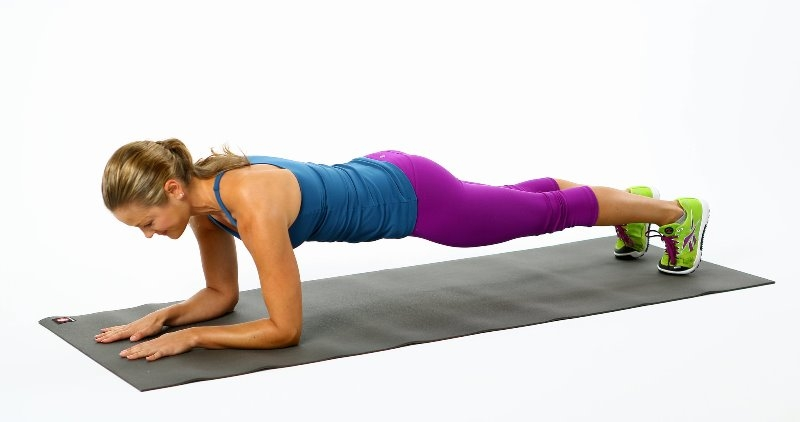 Plank giảm mỡ bụng hiệu quả