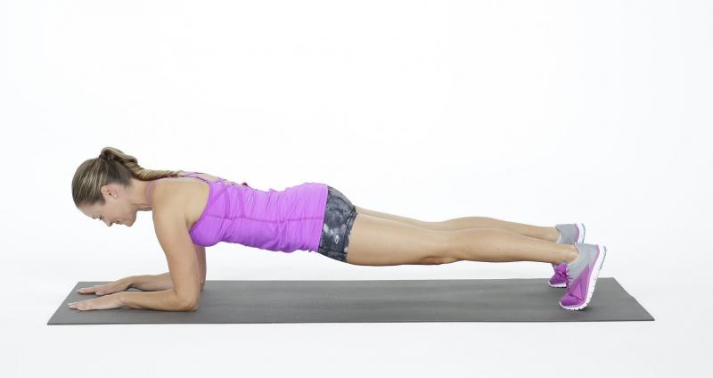 Động tác Plank giúp eo thon và tăng sức mạnh cho xương sống