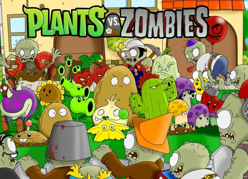 Plants vs. Zombies - Trò chơi chiến thuật tuyệt vời