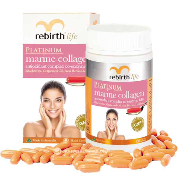 Platinum Marine Collagen Rebirth Life