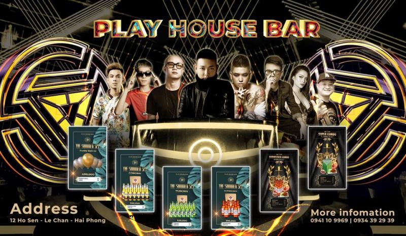 PLAY HOUSE BAR