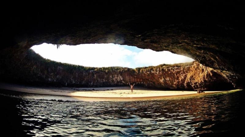 Bãi biển ẩn mình Playa de Amor