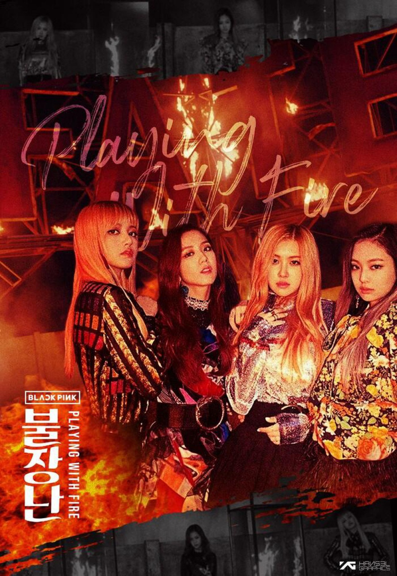 Playing with fire - BLACKPINK