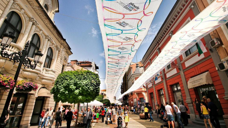 Plovdiv - một trong những thành phố thời trang nhất ở châu Âu