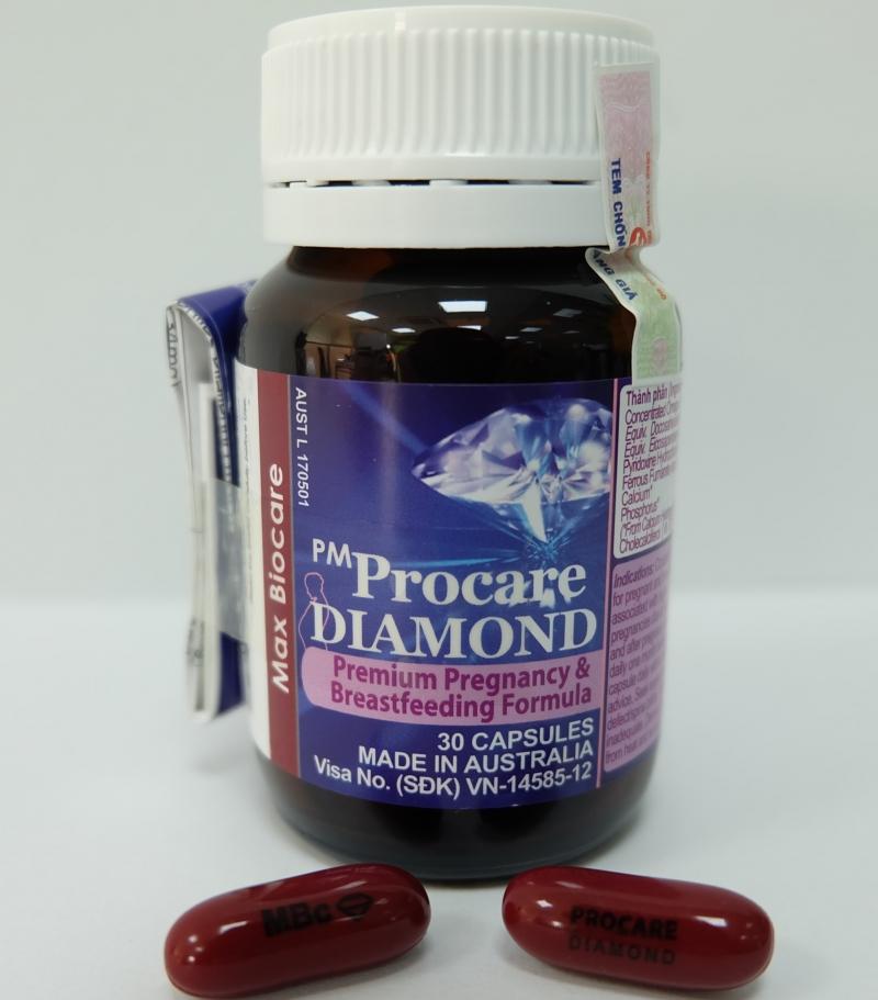 Công thức của PM Procare/PM Procare diamond được tính toán rất cẩn thận để phù hợp cho mẹ bầu