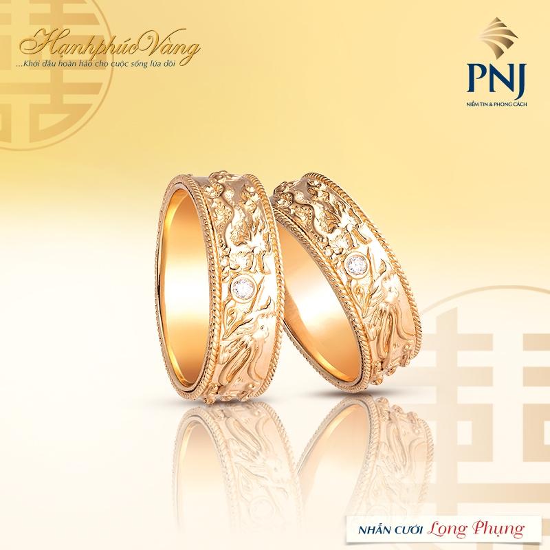Nhẫn cưới PNJ