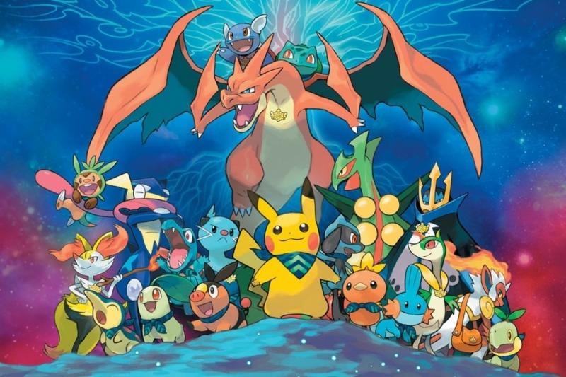 Các nhân vật Pokemon trong truyện