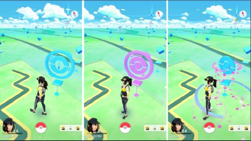 Thú vị với Pokemon Go trên bản đồ