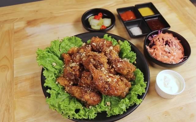 Món nướng Hàn Quốc ở nhà hàng