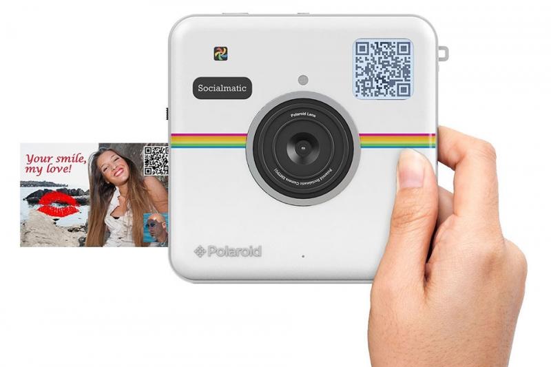 Máy ảnh Polaroid Socialmatic