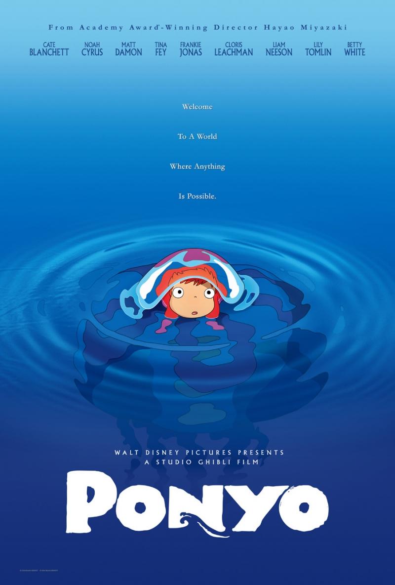Poster phim Ponyo.