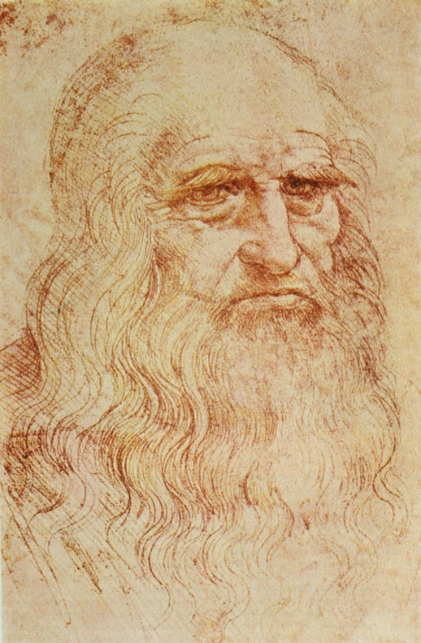 portrait of a man in red chalk (1510)