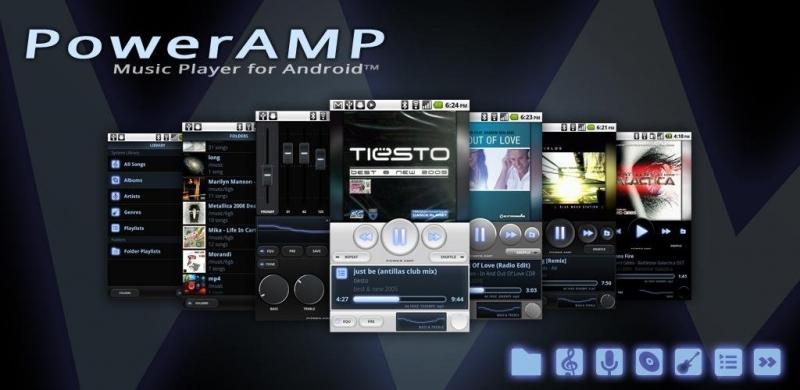 Poweramp là một trong những những ứng dụng hay nhất dành cho Android