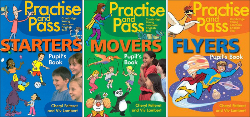 Practise and pas starters- movers- flyers