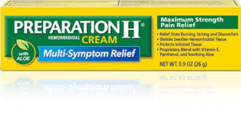 Preparation H ointment: