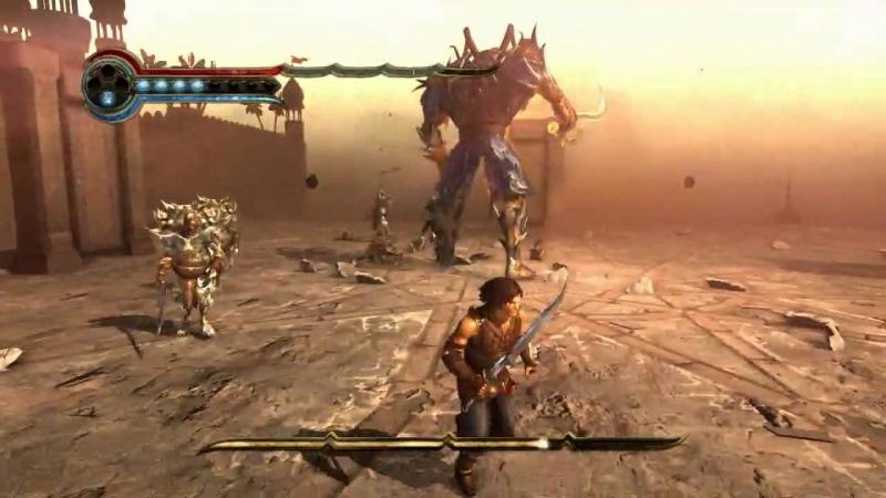Giao diện Game Prince of Persia